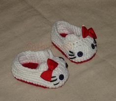 Baby Kitty Mary Jane Shoes Slippers Booties por CathyrenDesigns