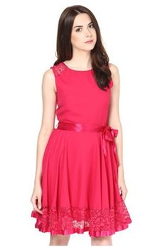 The Vanca Women's Gathered Dress price: Rs.1199.00 visit now :- http://gvcreations.co.in/