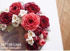 Done by me / BETTER CAKE www.better-cakes.com  Inquiry : bettercakes@naver.com  - 베러케이크 / Better Cake - Butter Cream Flower Cake & Class  Seoul, Korea based http://www.better-cakes.com Instagram : @better_cake_2015 Mail : bettercakes@naver.com Line : better_cake Facebook : Sumin Lee…