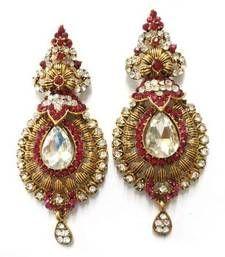 Buy Rani Kalash Earing danglers-drop online
