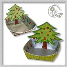 Christmas Tree Candy Bowl