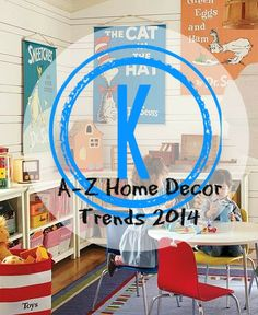 A-Z Home Decor Trend 2014: Kid Spaces with Alice T. Chan | San Francisco Bay Area Interior Renovation and Design Specialist.  This one is for all the parents out there.  As I'm sure you've all experienced firsthand, once those children are born, they tend to take over the house. There needs to be dedicated kid spaces so that kid spaces don't end up monopolizing the entire house.