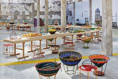 <p>Inspired by the eclectic markets of Bogotá, Colombia, Marni's installation for Milan Design Week boasts bold colors and shapes from the exotic faraway land. The Marni Mercado de Paloquemao is linked to the theme of the Expo Milano 2015, offering unique pieces released in several colors as well as a banquet where fruits can […]</p>