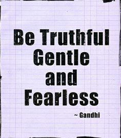 Gandhi Quote ~