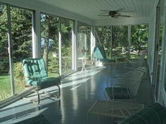 enclosed porches with doors | Enclosed Porch - Sliding Glass doors to Living Room & Outside ...
