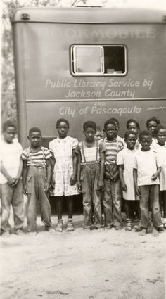 Jackson County Library and City of Pascagoula bookmobile #bookmobile