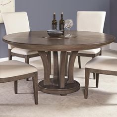 table group by american Drew. Beautiful greige finish..available at LaZBoy in Beavercreek, OH