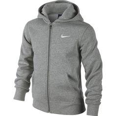 Läs mer om Nike YA76 Brushed Fleece Hoodie, huvtröja junior. Trygg handel med Prisgranti och 365 Dagars Öppet Köp