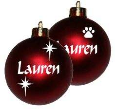 Personalised Christmas baubles in South Africa. We sell country-wide. Re-sellers welcome Personalised Christmas Baubles, Baby Grows, Cute Designs, South Africa, Christmas Stockings, Personalized Gifts, Christmas Bulbs, Country, Holiday Decor