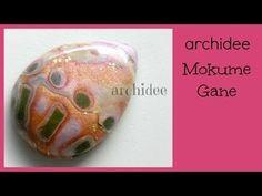 Tutorial | Polymer Clay | Tecnica Mokume Gane | DIY Cabochon & Pendants - YouTube