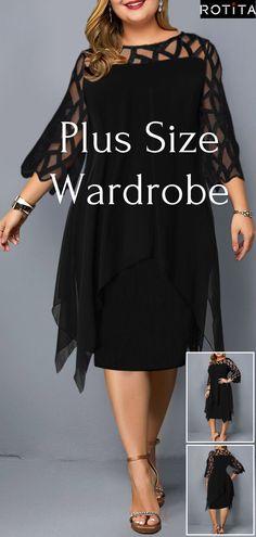 Plus Size Dresses online for sale Plus Size Summer Fashion, Plus Size Fashion For Women, Style Grunge, Hipster Grunge, Trendy Plus Size Dresses, Plus Size Outfits, Cool Outfits, Casual Outfits, Fashion Outfits