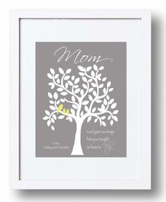 MOM Gift Print  Personalized Mother Gift by KreationsbyMarilyn, $15.00