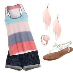 summer, created by kparker05 on Polyvore