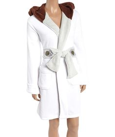 Princess Leia Hooded Robe - Adult by Star Wars
