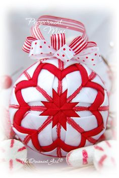 Peppermint Mine -- Candy Christmas Ornament from http://www.theornamentgirl.com