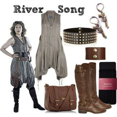 Character: River Song Fandom: Doctor Who Episodes: Day of the Moon, A Good Man Goes to War Fandom wardrobe