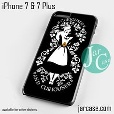 Curiouser Alice Phone case for iPhone 7 and 7 Plus