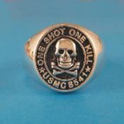 $123.00 Usmc, Marines, Sterling Silver Rings, Sterling Silver Thumb Rings