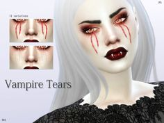 TSR : Pralinesims' Pale Secret Vampire Collection.