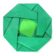 How to make an octagon origami letter (http://www.origami-make.org/origami-letter-octagon.php)