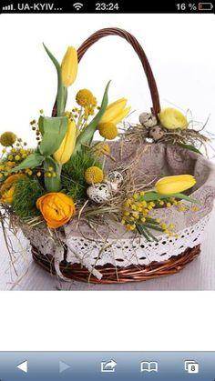 Wielkanoc, koszyczek, święconka