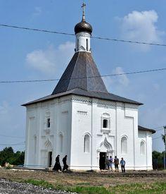 Ильинский храм села Пруссы Коломенского района.