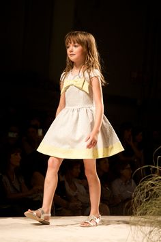 Super sweet Miss Blumarine girls dress for spring 2015 at Pitti Bimbo 79th edition