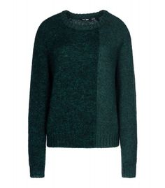 What's better for a lazy Sunday than a cozy sweater and jeans? - BLK DNM Emerald Two-Ton Sweater  at #ShopBAZAAR