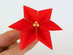 Blog – PlanetJune by June Gilbank » Origami Poinsettia Tutorial