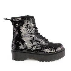 Αρβυλάκια Carol παγιέτα μαύροαπό συνθετικό δέρμα.Είναι διακοσμημένα με μαύρες παγιέτες all over και διαθέτουν μαύρα κορδόνια. Τα συγκεκριμένα... All Black Sneakers, Shoes, Fashion, Moda, All Black Running Shoes, Zapatos, Shoes Outlet, Fashion Styles, Shoe