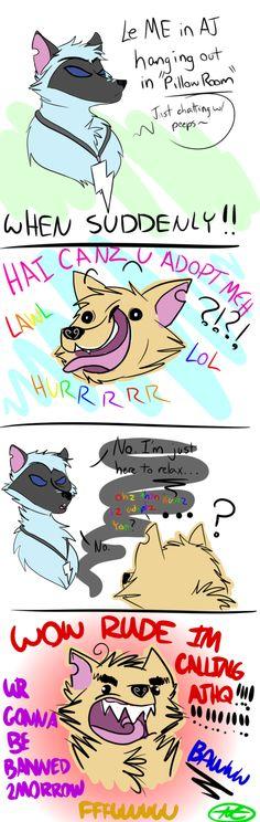Animal Jam Problems by TiaPunky.deviantart.com on @DeviantArt