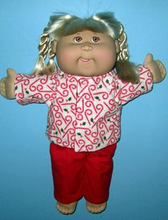 Cabbage Patch Kids  Doll Clothes Vhristmas Candy by Dakocreations
