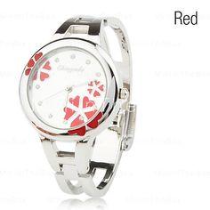 relógio pulseira de quartzo para mulheres