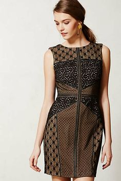 Anthropologie - Lace Topography Sheath