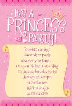 Disney princess birthday invitation free to download and edit princess party printable invitation customize add text and photos print for filmwisefo