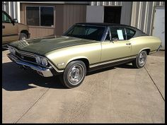 1968 Chevrolet Chevelle SS  396/325 HP, Automatic #Mecum #Kissimmee #WhereTheCarsAre