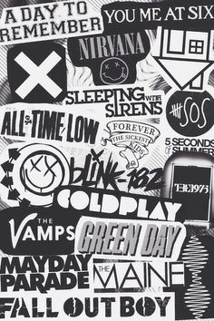 Heard all of them except The Vamps and 5 Seconds to Summer. So glad they had The Neighbourhood and Nirvana.