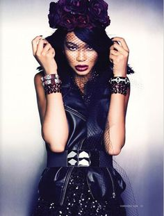 """divalocity:  Chanel Iman """"Lets It Glow"""" for Forever 21"""