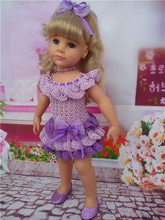 """Платье для Готц """"Сиреневые сны"""". / Одежда для кукол / Шопик. Продать купить куклу / Бэйбики. Куклы фото. Одежда для кукол"""