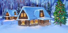 Winter email stationery (stationary): Greetings For A Happy Winter