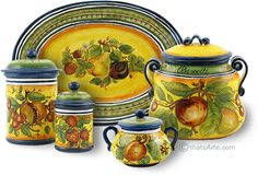canister sets - tuscan style - Google Search