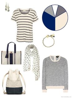adding beige and navy pieces to a travel capsule wardrobe Capsule Wardrobe Women, Fashion Capsule, Travel Wardrobe, Wardrobe Ideas, Summer Minimalist, Olive Green Pants, The Vivienne, Fashion Images, Fashion Pics