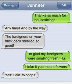 Sure it smells Fresh :D Like us fro more: Funny iPhone Autocorrect Fails - http://blague.co/sure-it-smells-fresh-dlike-us-fro-more-funny-iphone-autocorrect-fails/