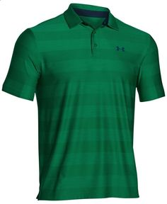 Nike men 39 s dri fit core stripe varsity golf polo shirt for Under armour dri fit long sleeve shirts
