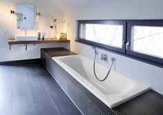 repaBAD-Badewanne-arosa Source by The post repaBAD-Badewanne-arosa appeared first on Swor. Rustic Bathroom Designs, Hallway Designs, Built In Bathtub, Master Bathroom, Sweet Home, New Homes, Interior Design, House, Home Decor