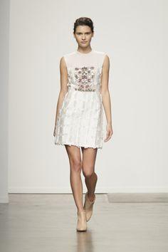Look #01 Rachel Comey Spring 2013