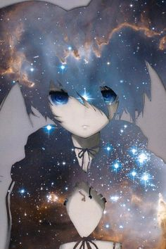 Black rock shooter~ (an anime & manga based off of a Miku song)