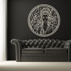 ARTstickers Wall Tattoo, Couch, Tattoos, People, Furniture, Home Decor, Settee, Tatuajes, Decoration Home
