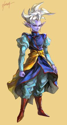 Supreme Kai | ドラゴンボール ログ | ユラ [pixiv] http://www.pixiv.net/member_illust.php?mode=medium&illust_id=46571647