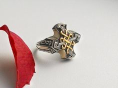 Celta anillo del Signet de Men.Celtic Ring.Celtic por Vigmarr